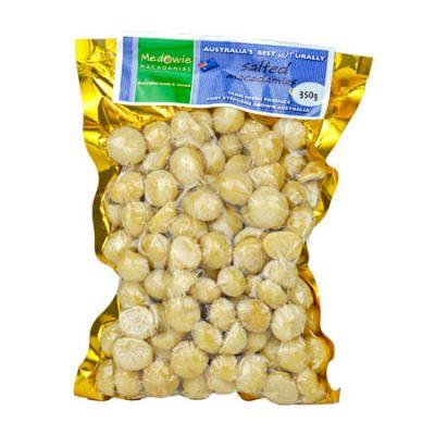 Salted Macadamias 350g