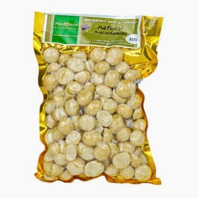 Natural Macadamias 350g