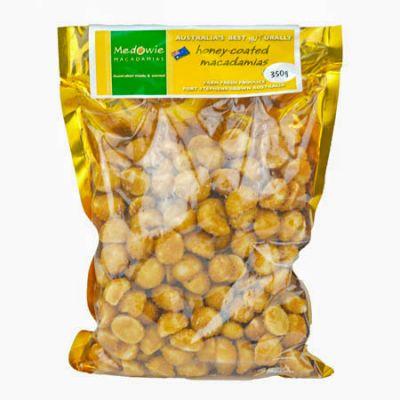 Honey Coated Macadamias 350g