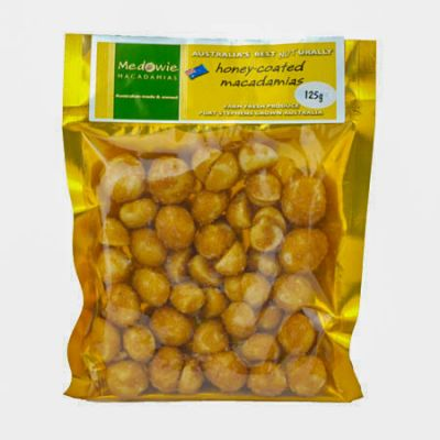 Honey Coated Macadamias 125g