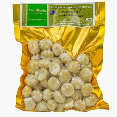 Natural Macadamias 125g