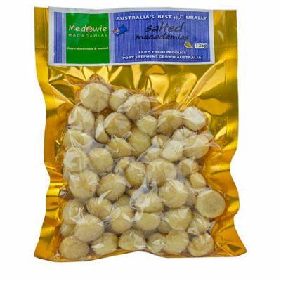 Salted Macadamias 125g