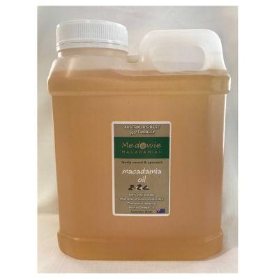 Macadamia oil - 2.2lt