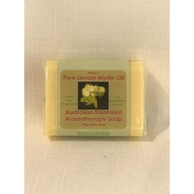Lemon Myrtle Soap-Yellow