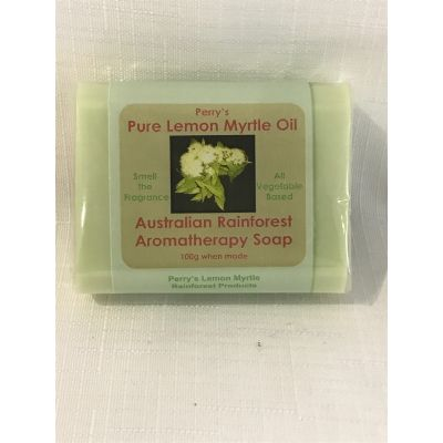 Lemon Myrtle  Soap-Green